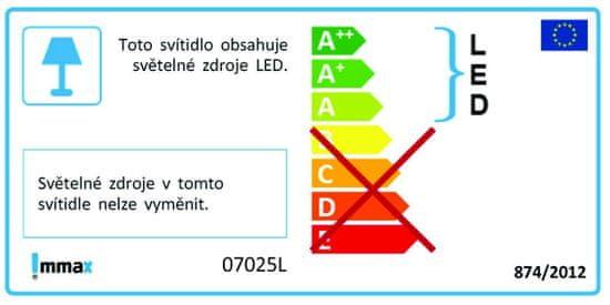 Immax NEO RONDATE Smart stropní svítidlo 60cm 50W černé Zigbee 3.0