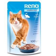 Reno kapsička pre mačky 100g ryba