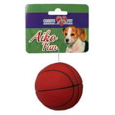 COBBYS PET AIKO FUN Kosár labda 7,3cm gumijáték kutyáknak