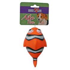 COBBYS PET AIKO FUN Hal 13,6cm gumijáték kutyáknak