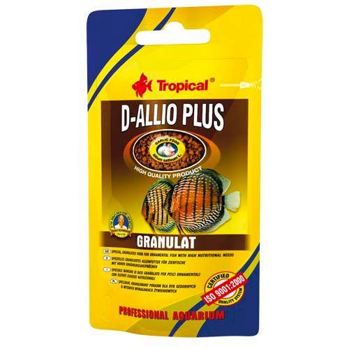 TROPICAL D-Allio Plus Granulat 22g granulált eledel diszkoszhalaknak
