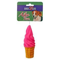 COBBYS PET AIKO FUN Fagylalt 13cm gumijáték kutyáknak