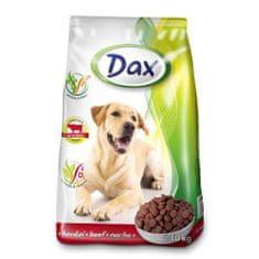 DAX Dog Dry 10kg Beef marhahúsos granulált kutyatáp