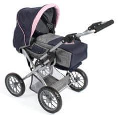 Bayer Chic otroški voziček Leni, sivo moder