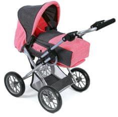 Bayer Chic otroški voziček Leni, sivo roza