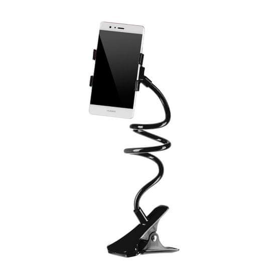 MG univerzálny držiak s flexibilným ramenom pre telefón, čierny