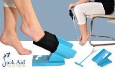 Sock Aid Nazouvák a vyzouvák ponožek - Sock Aid Easy On, Easy Off (originál)
