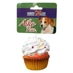 COBBYS PET AIKO FUN Muffin 7,5cm gumijáték kutyáknak