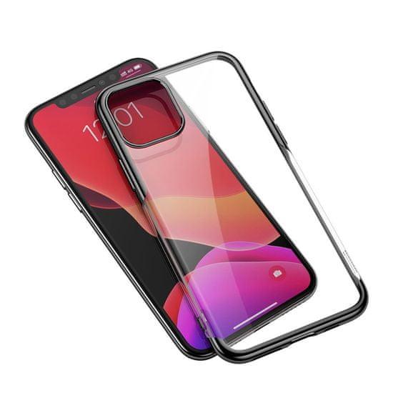 BASEUS Shining silikonski ovitek za iPhone 11 Pro Max, črna