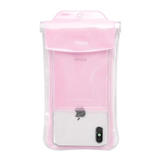 "BASEUS Safe Airbag vodotesno ovitek IPX8 6.5"", roza"