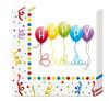 """Papierové servítky """"Happy Birthday Balóny"""" 33x33cm - 20ks"""