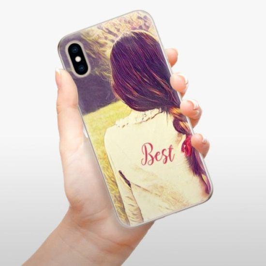 iSaprio Silikonowe etui - BF Best na Apple iPhone XS
