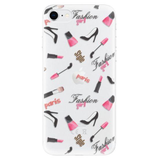 iSaprio Silikonowe etui - Fashion pattern 01 na Apple iPhone SE 2020