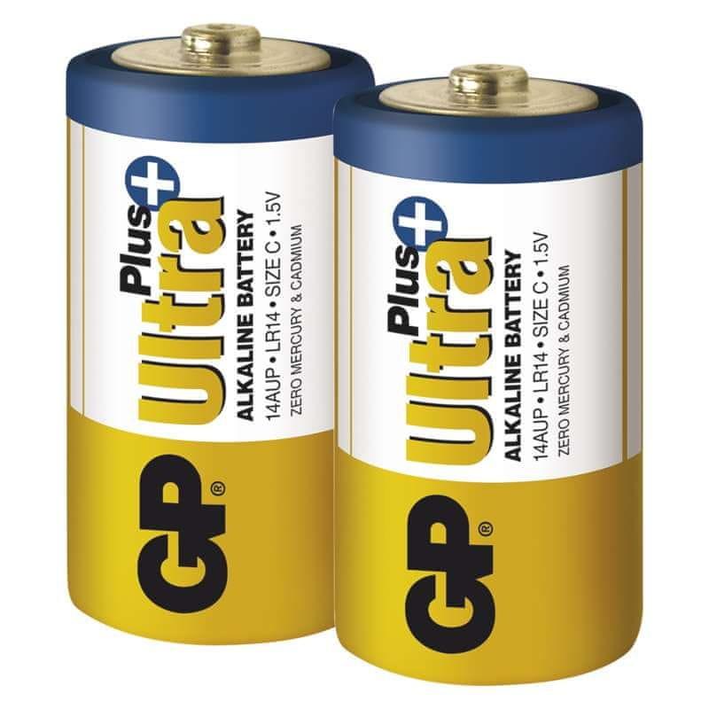 GP Ultra Plus Alkaline C 2ks