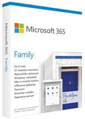 Microsoft 365 Family 1-letna naročnina, SLO