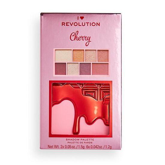 I Heart Revolution Paletka senčil za oči Cherry Mini Chacolate (Shadow Palette) 10,2 g