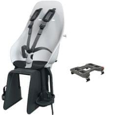 Urban Iki Zadnji sedež z adapterjem za nosilec kolesa (Shinju White/Bincho Black)
