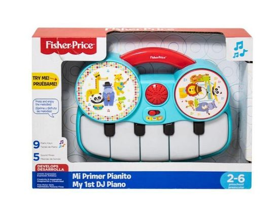 Fisher-Price moj prvi DJ piano