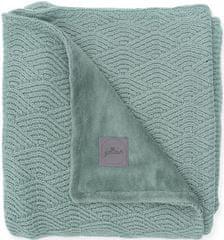 Jollein Deka 75×100cm River knit ash green/coral