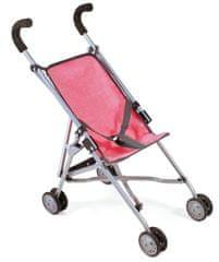 Bayer Chic otroški voziček Mini-Buggy ROMA, roza
