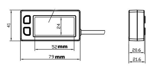 Motohodiny.cz Multifunkčný merač motohodín a otáčok