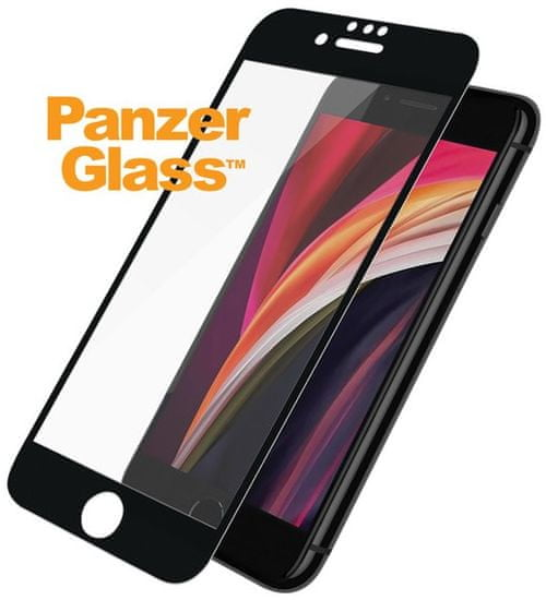PanzerGlass Edge-to-Edge pro Apple iPhone 6 / 6s / 7 / 8 / SE (2020) 2679, černé