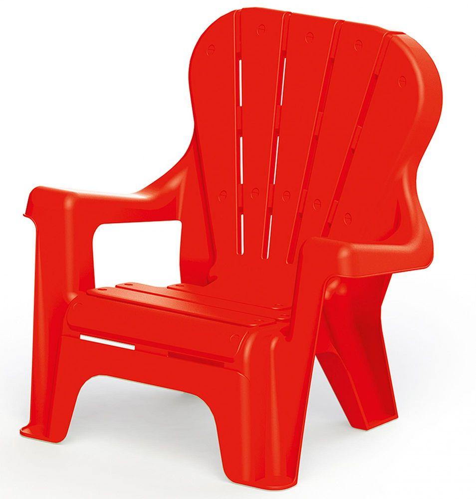 DOLU Dětská zahradní židle červená
