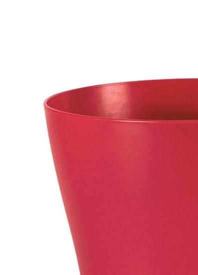 Marex Trade Květináč LIEGI Ø 16 cm, červená