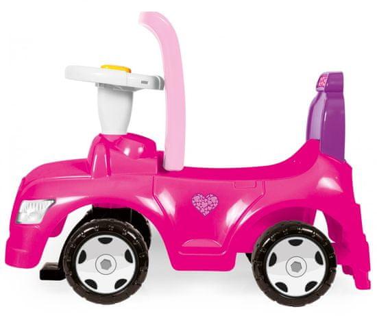 DOLU Avtomobil poganjalček 2 v 1, roza