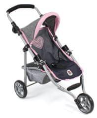 Bayer Chic otroški voziček LOLA, siva