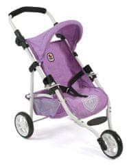 Bayer Chic voziček za lutko LOLA, lila