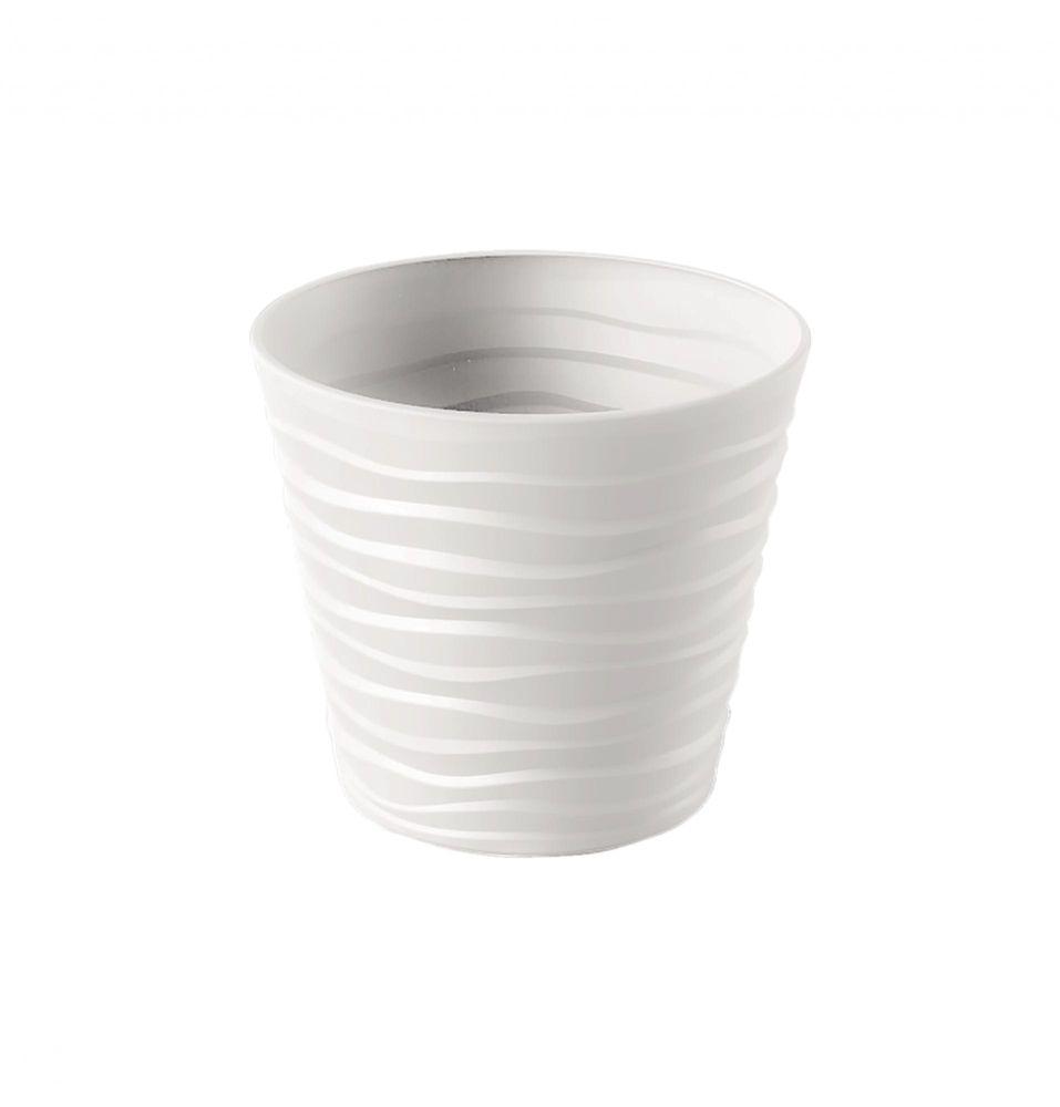 Marex Trade Květináč BORA Ø 40 cm, bílá