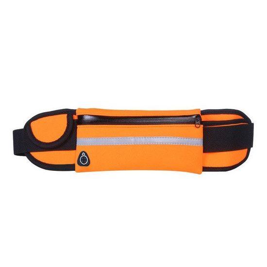 MG Ultimate Running Belt tekaški pas držalo za steklenice, oranžna