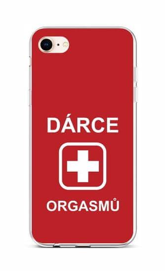 TopQ Kryt iPhone 8 silikón Darca 48511