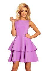 Numoco Ženska obleka 169-6, vijolična, L