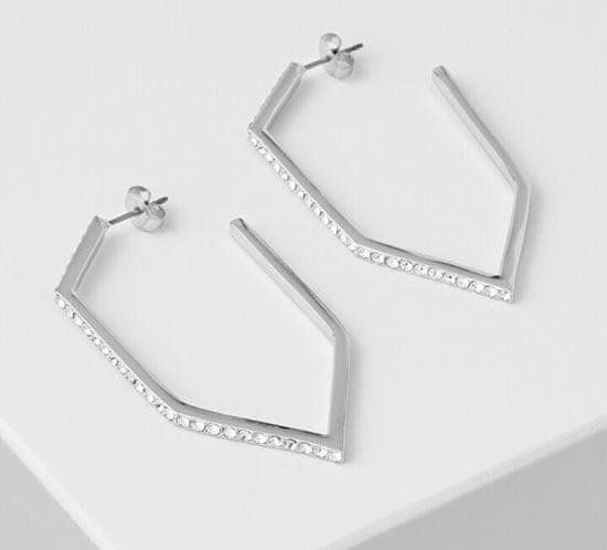 Karl Lagerfeld Luxusní náušnice s krystaly 5512278