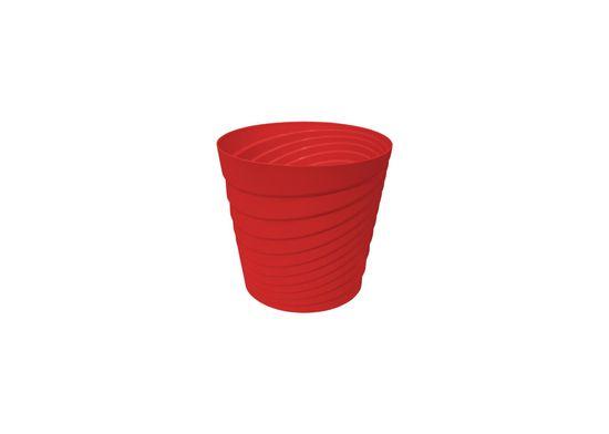 Marex Trade Květináč SWING Ø 30 cm, červená
