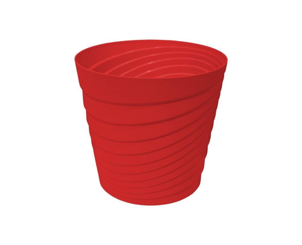 Marex Trade Květináč SWING Ø 40 cm, červená
