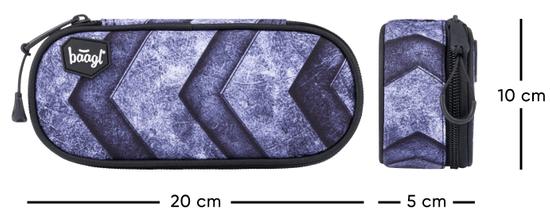 BAAGL šolska peresnica kompakt Magion