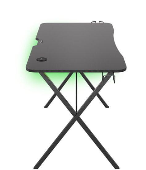 Genesis Holm 200, RGB LED, fekete (NDS-1606)