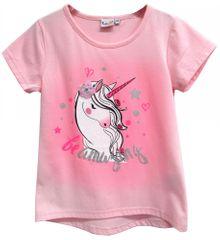 Topo dívčí tričko 98 světle růžová