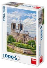 Dino sestavljanka Katedrala Notre-Dame, 1000 kosov