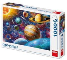 DINO Planéty 1000 dielikov puzzle