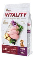 Akinu VITALITY karma dla psa, senior, małe rasy, kurczak 3 kg