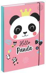 BAAGL teczka na zeszyty szkolne A4 Panda