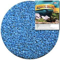 COBBYS PET AQUATIC DECOR Kavics kék 3-4mm 2,5 kg