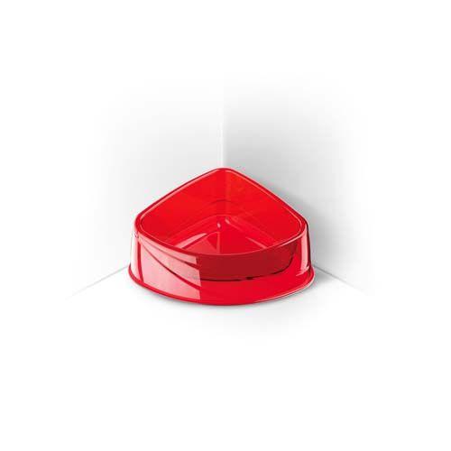 COBBYS PET Corner Lux 20x15x8cm 0,4l priesvitná rohová miska