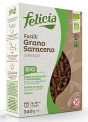 Health Link Těstoviny Felicia BIO celozrnné rýžové fusilli - box
