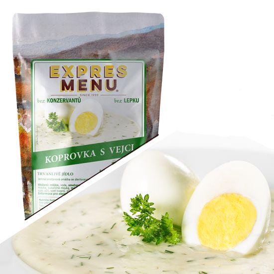 Expres Menu Koprovka s vejci 600g (2 porce)