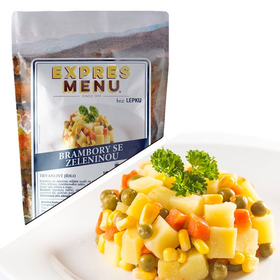 Expres Menu Brambory se zeleninou 500g (2 porce)